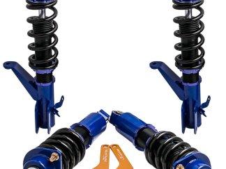 4PCS Coilover Kits For Honda Civic EM2 2001 2002 2003 2004 2005 Struts Adjust Height