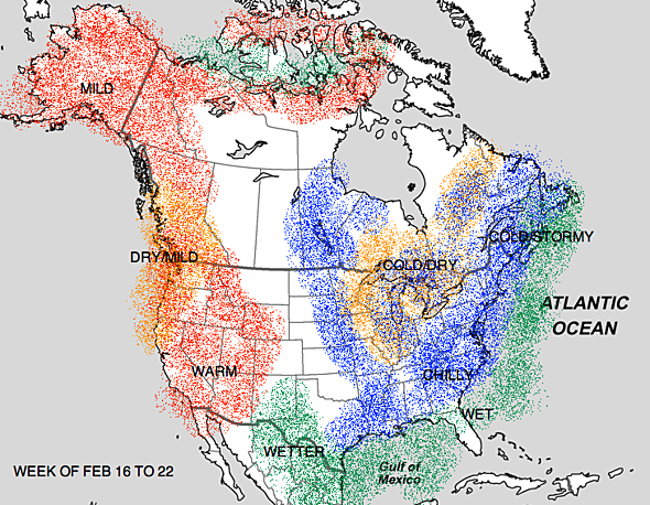 New Paper Unprecedented Stcentury Drought Risk In The American - Eastern half of us map