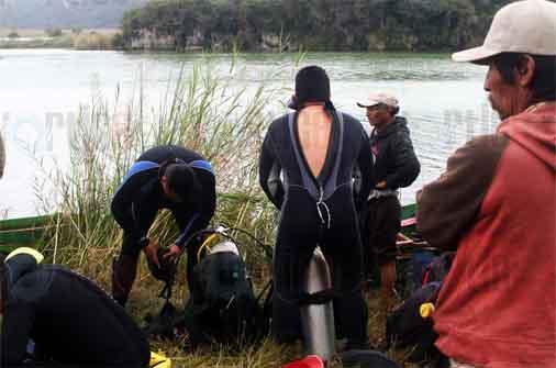 Encuentran cuerpo de turista ahogado en Lagos de Montebello