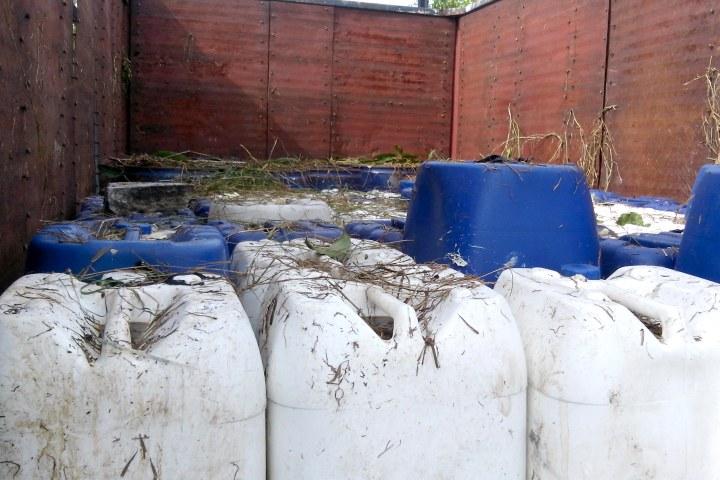 Incautan casi 4 mil litros de precursores químicos en Chiapas