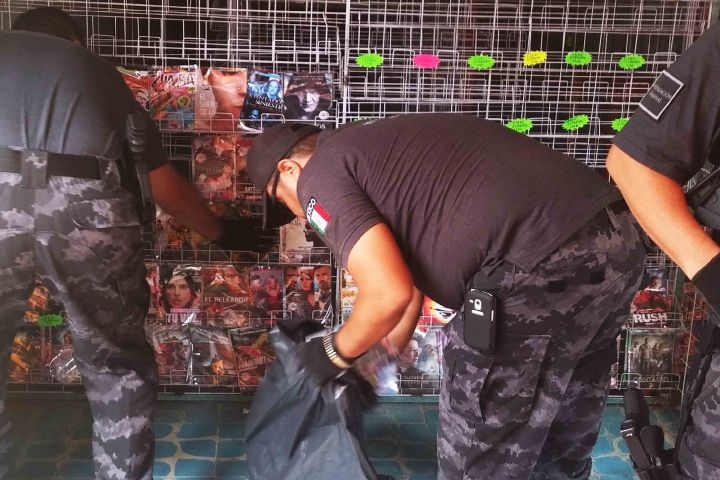 Asegura PGR más de 13 mil piezas apócrifas en Chiapas
