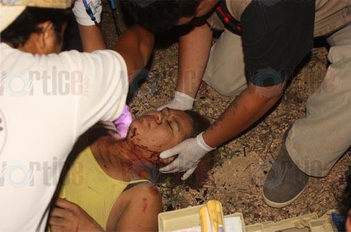 Vuelca conocida enfermera en Cintalapa