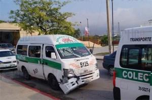 Colectivazo deja 4 heridos