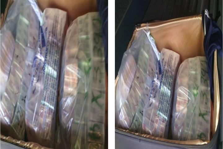 Ejército incauta más de 2 millones y medio de pesos en autobús de la OCC