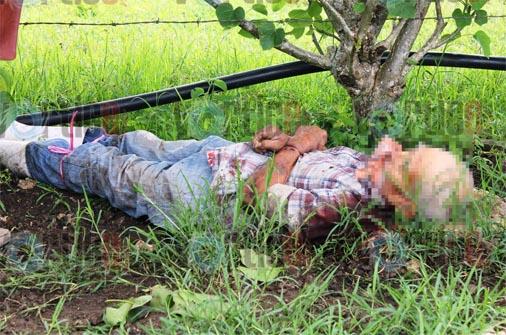Amarran a dos ancianos; uno es asesinado a sangre fría