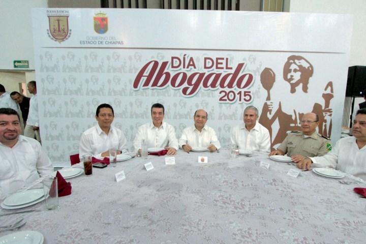 Se engrandece a Chiapas con sistema de justicia digno y eficaz para los ciudadanos