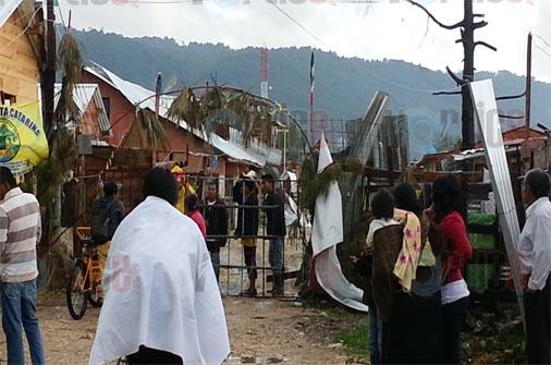 Tornado y granizada azota  a San Cristóbal