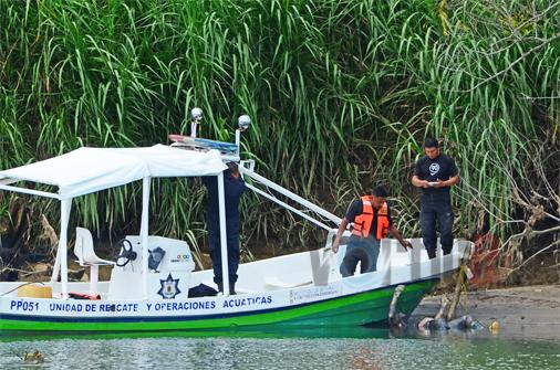 Pescadores hallan cadáver en el río Grijalva