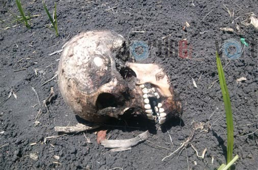 Hallan cráneo humano en Chiapa de Corzo