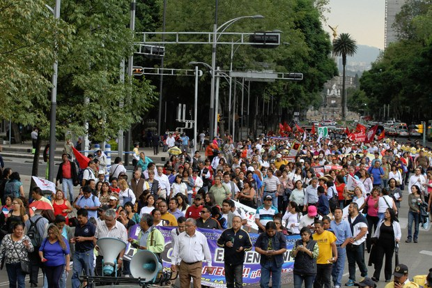Disidencia del SNTE anuncia paro de labores para el 24 de agosto