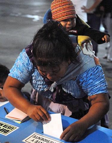 Concluyen las elecciones generales en Guatemala