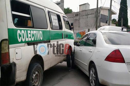 Colisiona colectivo en Las Palmas