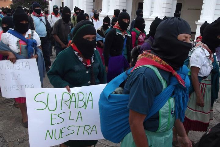 Anuncia EZLN movilización por los 43