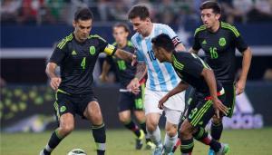 Messi le empata en los últimos minutos a México