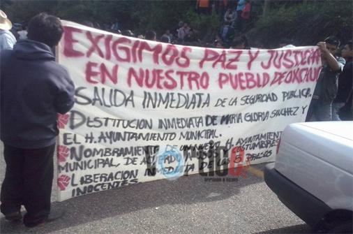 Continúan los disturbios en oxchuc
