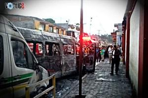 Lanzan explosivo en estacionamiento de autotransportes en Chiapa de Corzo