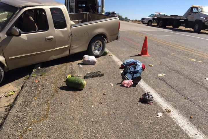 Muere conductor en la vía de cuota SCLC-Tuxtla