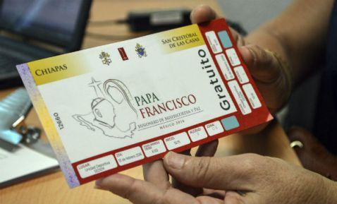 En Chiapas, alta demanda para visa mexicana o TVR por visita del Papa