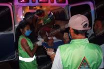 Otra persona, ajena al incidente, también resultó herida