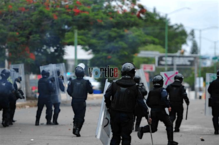 La Policía Federal se lanzó también contra los colonos