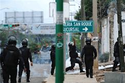 La Policía lanzó gases a pesar de que era una zona habitada