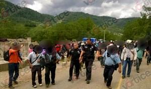 Liberan a policías federales retenidos en Huixtán