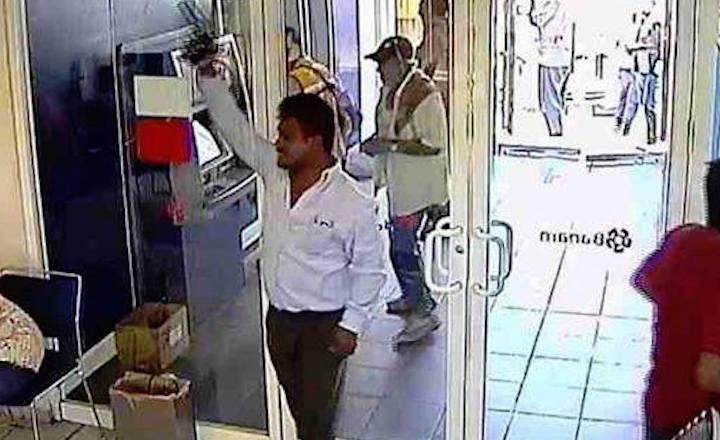 Roban medio millón de pesos a cuentahabientes dentro de Banamex, Plaza Polifórum