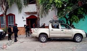 Disparan contra camioneta en intento de asalto