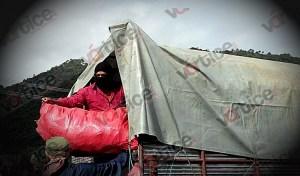 Realiza EZLN dos entregas más de alimentos; ahora en San Cristóbal y Comitán