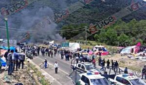 Balean a maestro durante violento desalojo en San Cristóbal; hay varios heridos