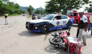 Otra vez, patrulla atropella a motociclista; ya son dos los casos en una semana