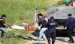 Abandonan cadáver de un profesor sobre camino de terracería