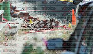 Mueren cuatro peregrinos en volcadura; el vehículo perdió los frenos