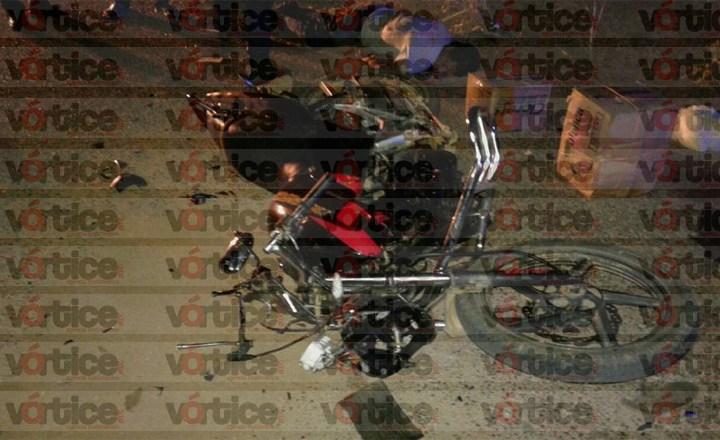 Muere comisariado ejidal en accidente; estrelló su motocicleta contra un caballo