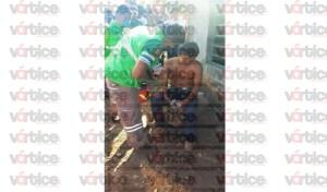 Apuñalan por la espalda a jovencito en Copoya