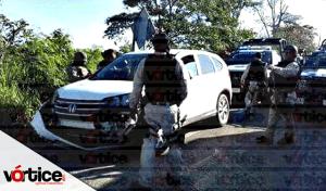 Balacera en Tabasco deja tres heridos; al parecer los secuestradores intentaba huir a Chiapas