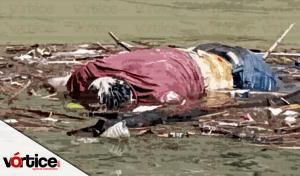Localizan cadáver flotando en el río Grijalva