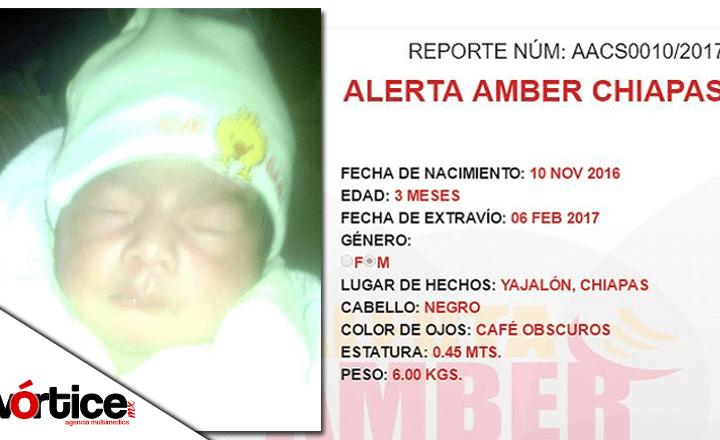 Recuperan bebé secuestrado en Yajalón; lo abandonaron en una caja de cartón