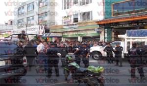 Tras disparos, Policía Municipal detiene a presuntos ladrones