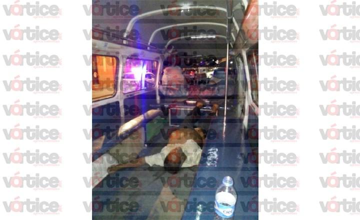 Fallece pasajero dentro de un transporte público