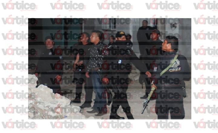 Balacera en Kilómetro 4; Policías Municipales detienen a dos