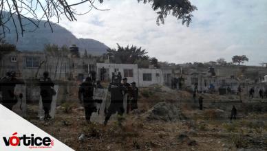 Desalojan a 40 personas que ocupaban de manera ilegal 30 viviendas