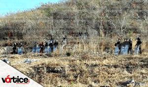 Desalojan familias que invadían parte de la Reserva del Parque Nacional del Cañón del Sumidero