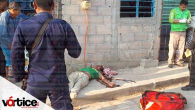 Tras horas de agonía, auxilian a colono en Las Granjas