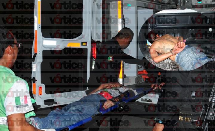 Riña deja un detenido y otro gravemente herido