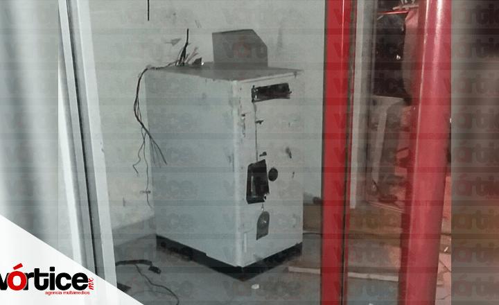 Intentan robar cajero de la Secretaría de Obra Pública y Comunicaciones en Chiapas
