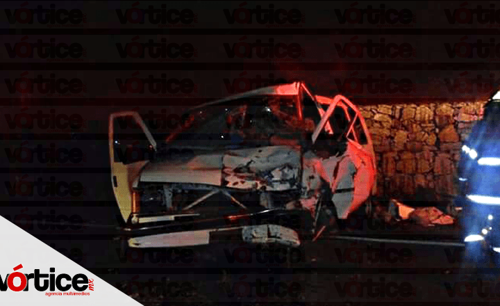 Muere chófer de Van durante carreterazo en San Cristóbal
