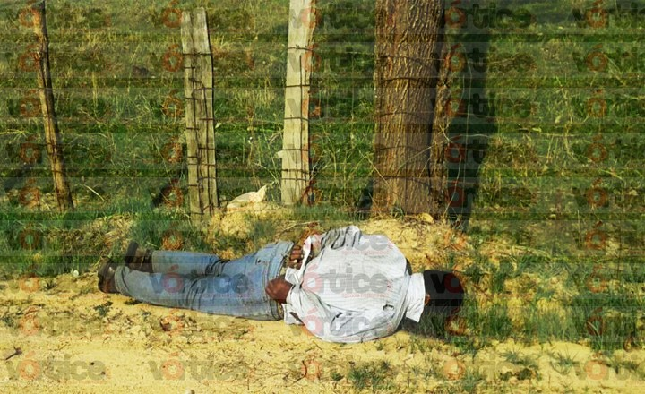 Localizan cadáver con el tiro de gracia y amarrado de las manos