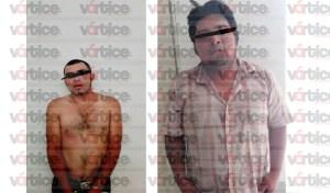 Policías Municipales detienen a dos personas por robo en la colonia 6 de Junio