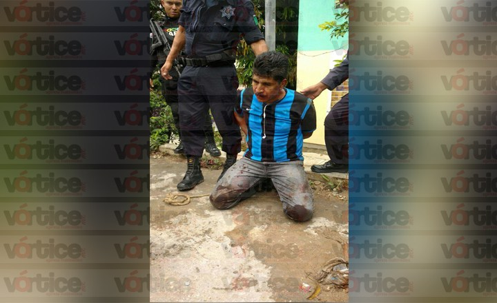 Casi linchan a presunto ladrón en Infonavit Chapultepec